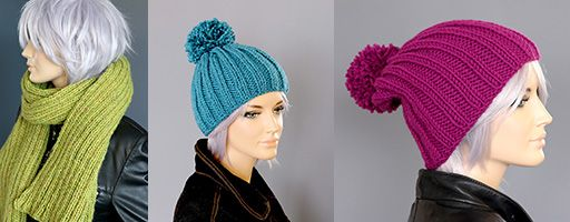 Hand Knitted Scarves and Hats Nottingham UK